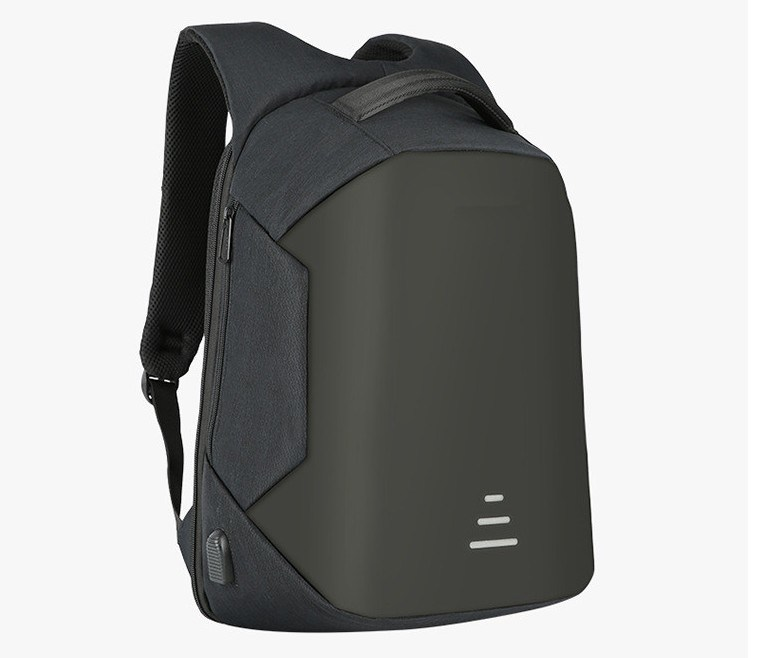 New fashion popular waterproof polyester anti-theft backpack